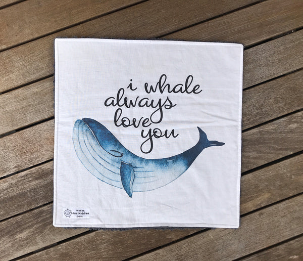 DeLuxe Lovey - ALWAYS WHALE (DeLuxe Kuscheltuch)