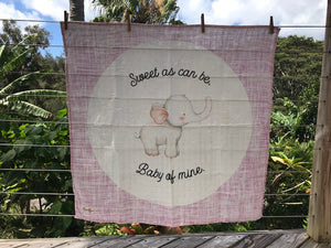Swaddle Muslin Blanket - ELEPHANT