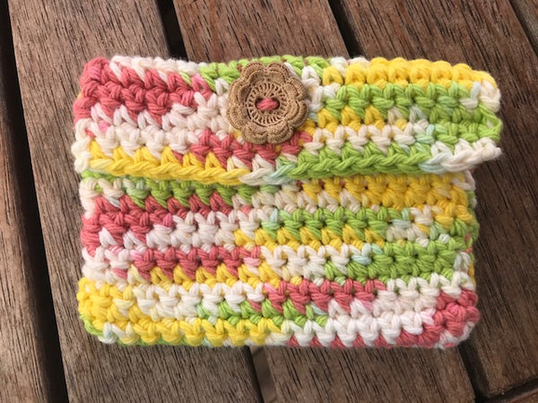 Crochet Clutch - SALE