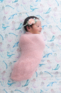 Swaddle Muslin Blanket - MERMAIDS