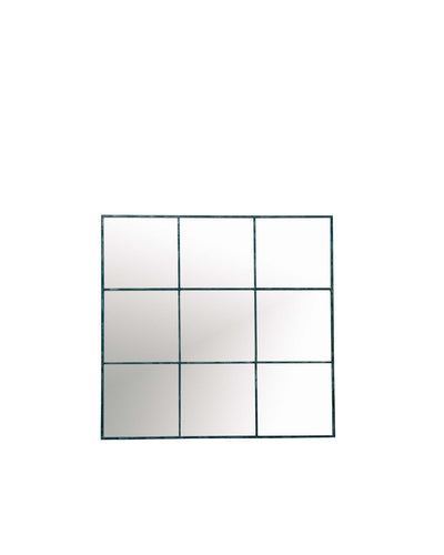 Nine Pane Mirror