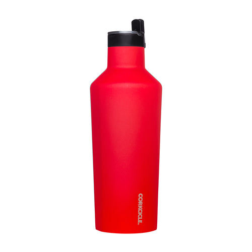 Red Sport Canteen 40oz
