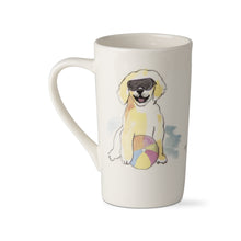 Load image into Gallery viewer, Beach Face Dog Mug