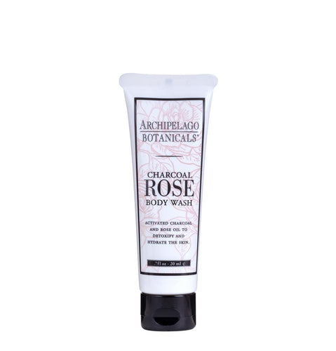 Charcoal Rose Travel Body Wash