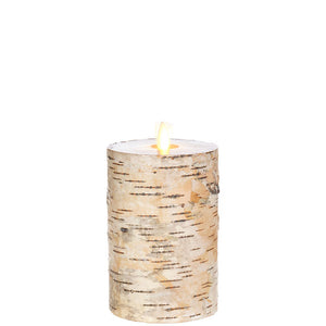 Birch Moving Flame 6""