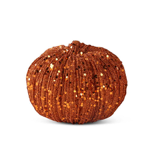 Orange Glitter Pumpkin