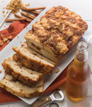 Load image into Gallery viewer, Cinnamon Crumble Beer Bread