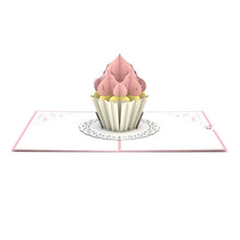 Load image into Gallery viewer, Cupcake Birthday Card