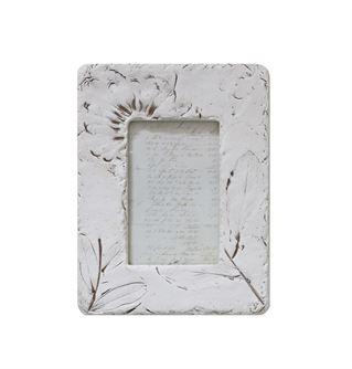 Embossed Wildflowers Frame