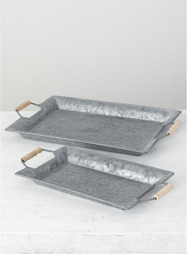 Metal Rectangular Tray