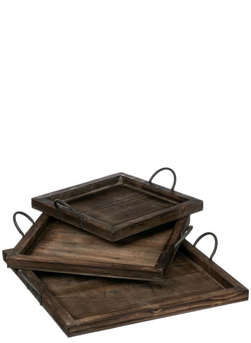 Square Nested Tray