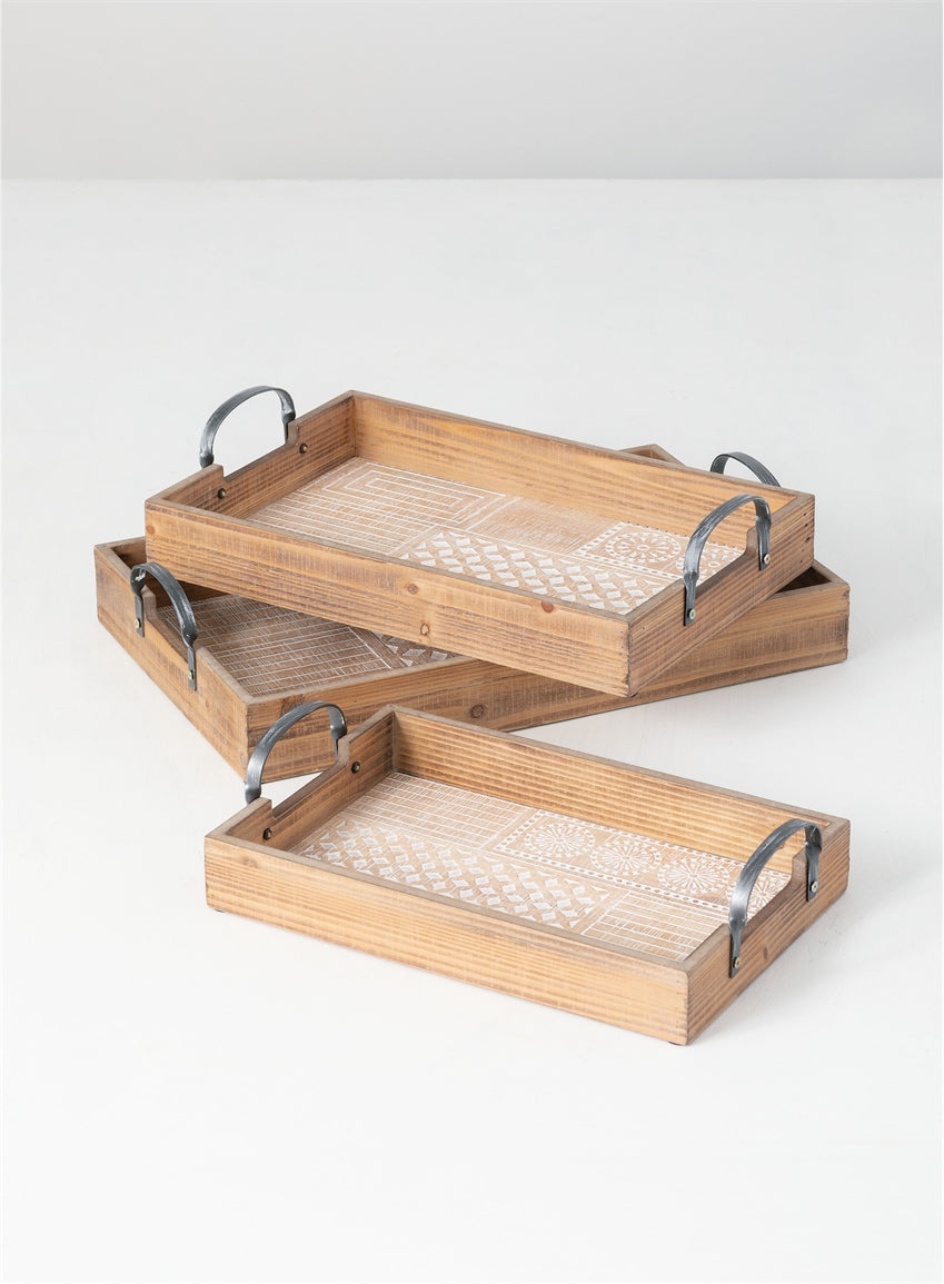 Patterned Tray