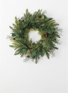 Pine Eucal Wreath