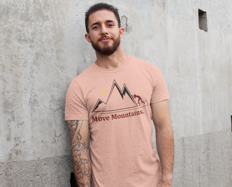 Black Mustard Seed Move Moutains T shirt