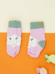 Flower Face Socks