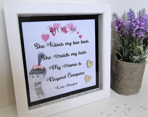 Mothers Day Cute Box frame