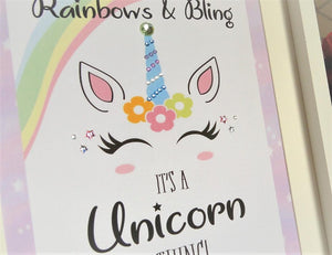 Rainbows & Bling, It's a Unicorn Thing