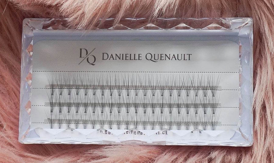 One-Night-Only Individual Volume Lashes: 8mm petite