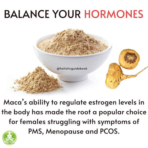 Add maca root to your...