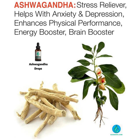 Get Our Stress Relieving Ashwagandha...