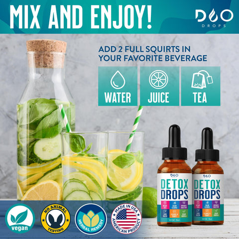 How to use Dao Drops Cleanse Detox Drops
