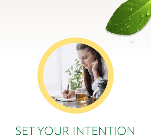 set your intention before a detox