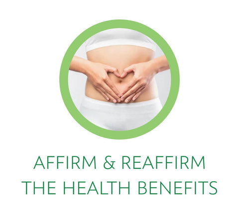 affirm and reaffirm the health benefits of detoxing