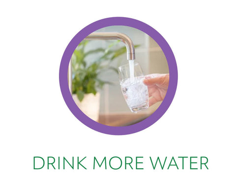 drink more water while detoxing