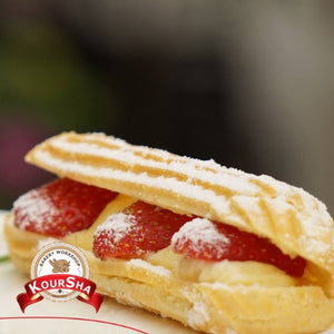 Strawberry Eclairs 1 piece