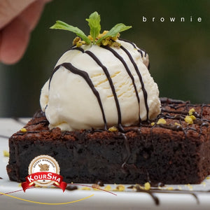 Brownie Cake Portion