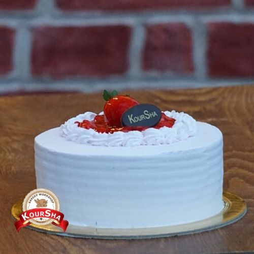 Strawberry Cake ( must order before 12 hours)