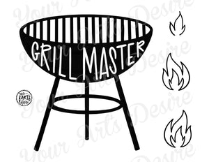 Grill Master- Full Color