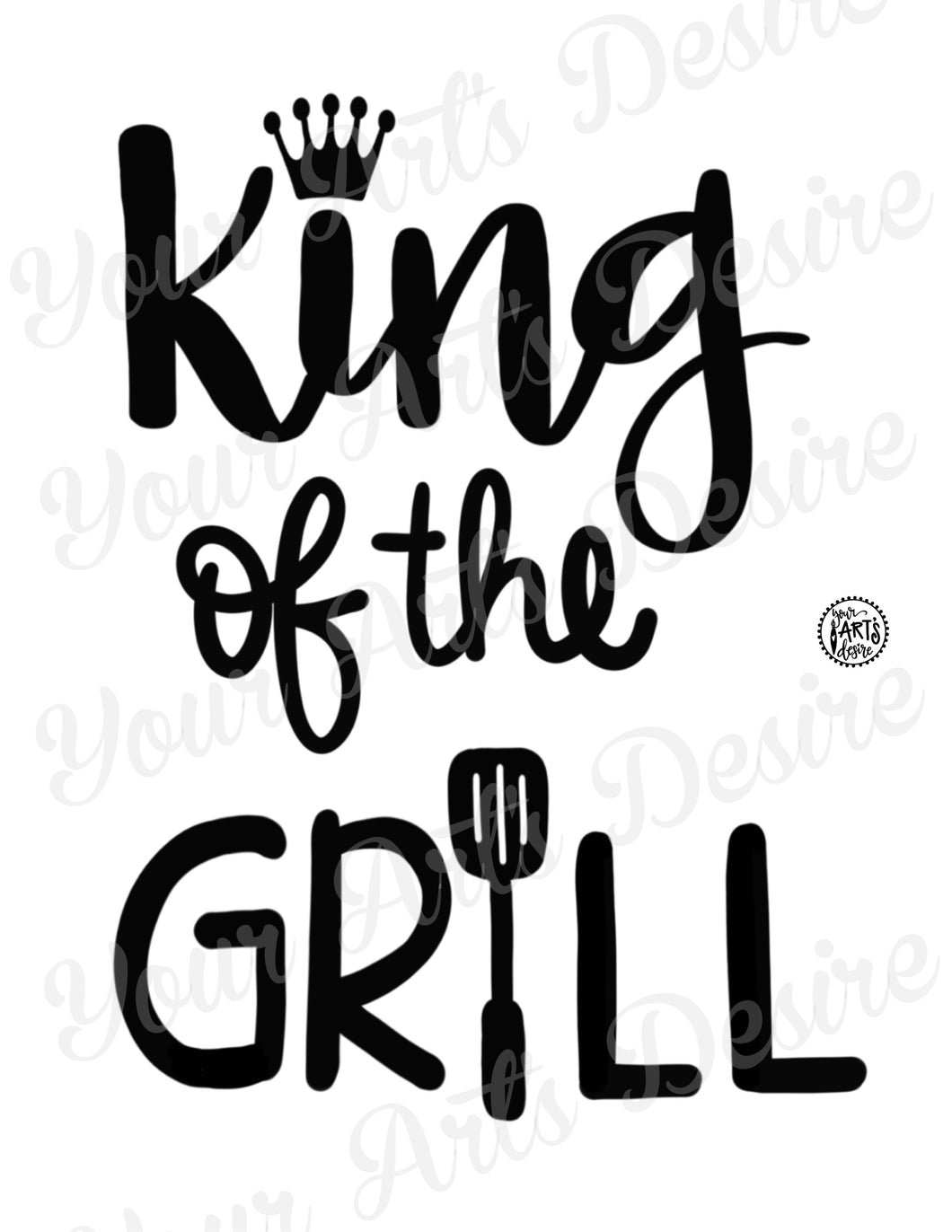 King of the Grill - full color