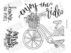 Enjoy the Ride Bicycle