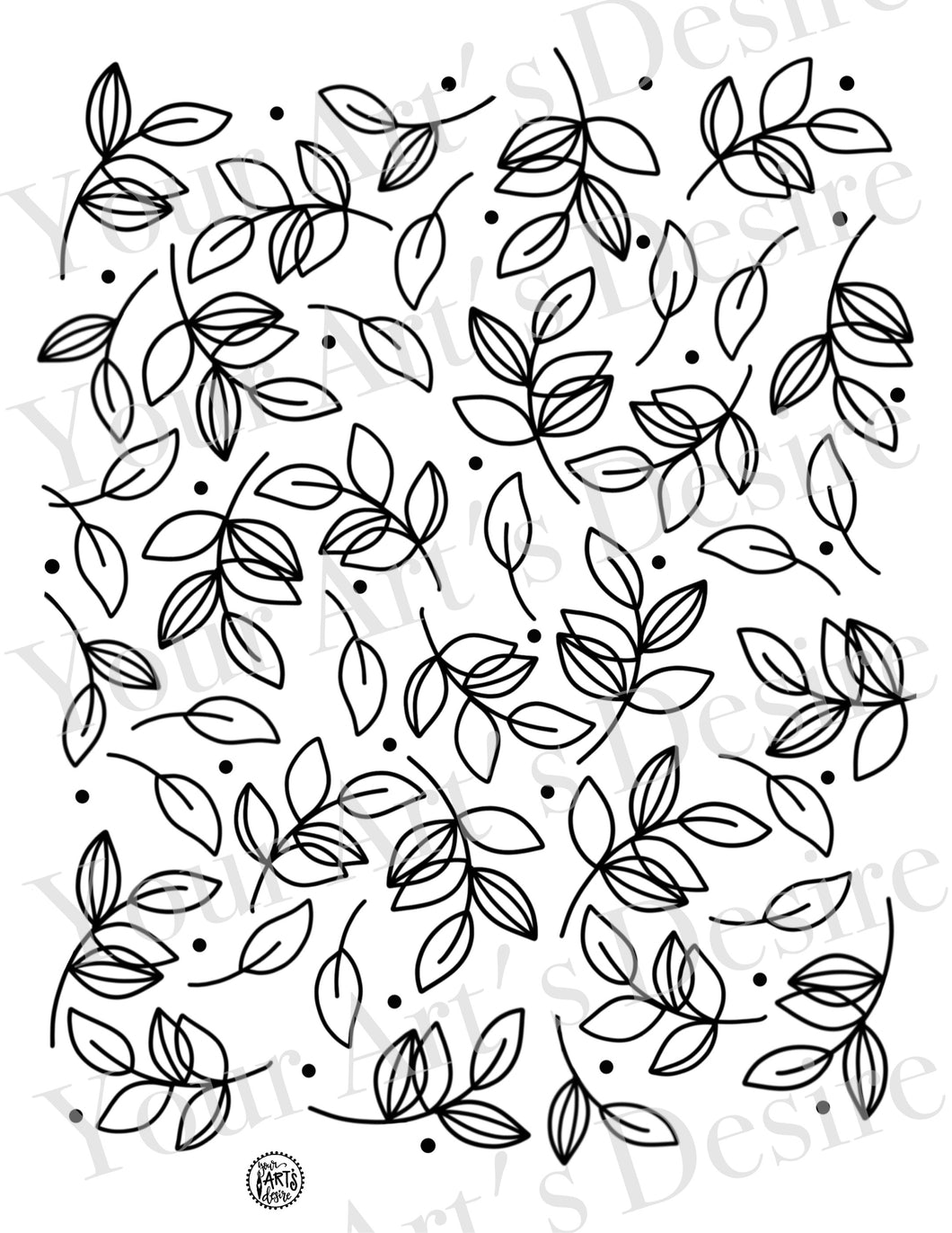 Whimsy Leaf Pattern