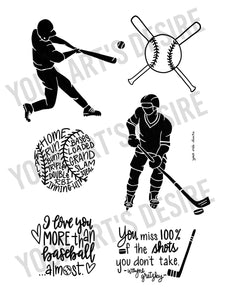 Baseball & Hockey