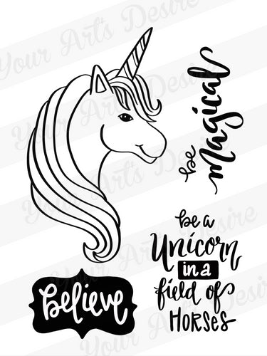 Unicorn Silkscreen