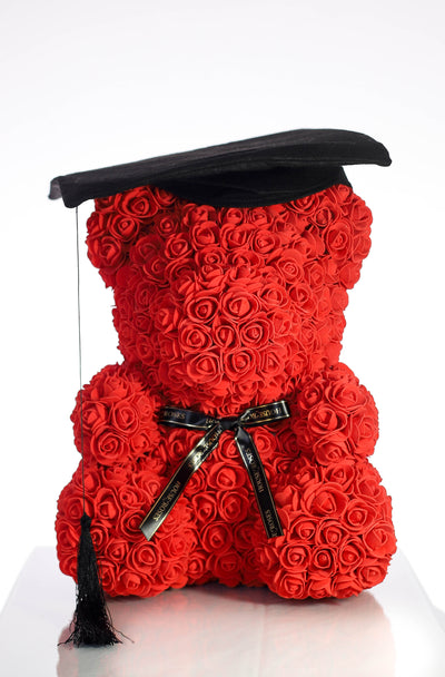 Graduation Hat For 40CM Rose Bear