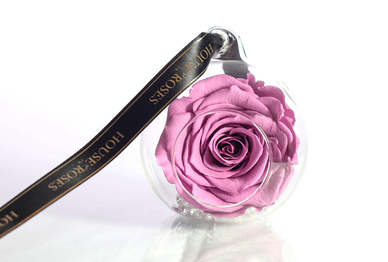 Pink Eternal Rose In Globe