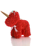 Red Rose Unicorn Bear