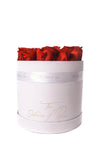 Eternal Rose Hatbox - White - The House of Roses London