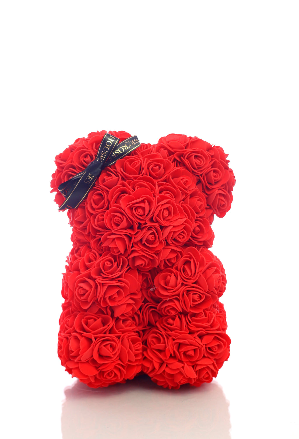 Red Rose bear (25cm)