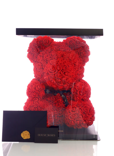 Red Rose Bear (40cm)