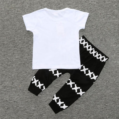 Top + Harem Cotton Pants
