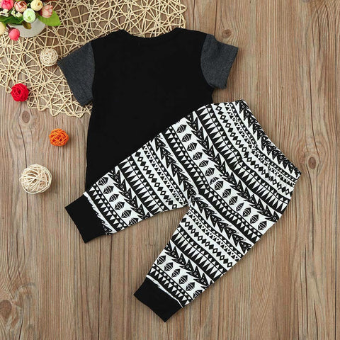 Cotton Black Clothing Set