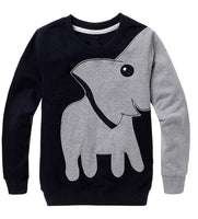 Elephant Long Sleeve Sweater