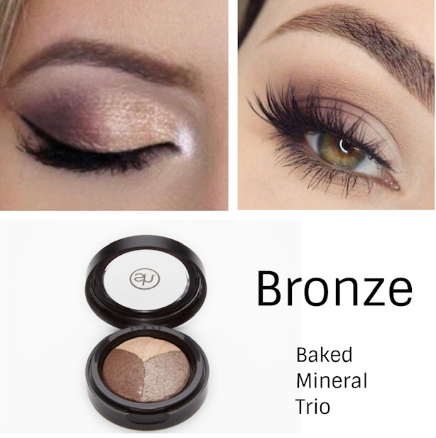 easy 3 step eye shadow application