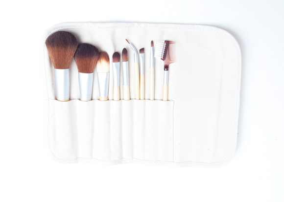 sh. pro-luxury vegan/eco- brush set