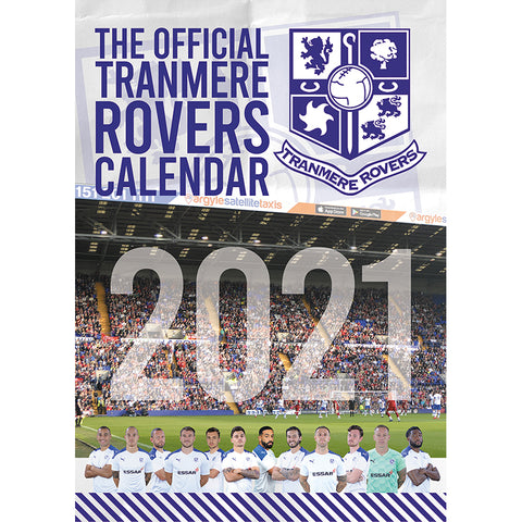 Official 2021 Tranmere Rovers Calendar