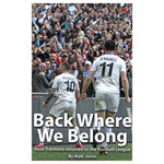 Back Where We Belong Book